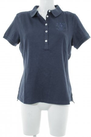 Arqueonautas Polo-Shirt dunkelblau Casual-Look