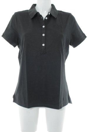 Arqueonautas Camiseta tipo polo negro look casual