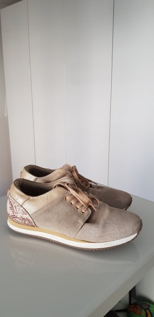 Arqueonautas Sneakers gold-colored-beige