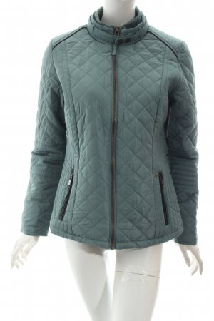 Arqueonautas Quilted Jacket turquoise classic style
