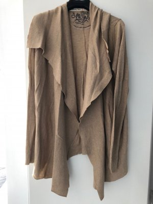 Arqueonautas Cardigan beige-sand brown cotton