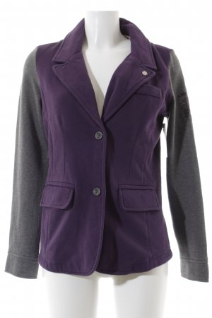 Arqueonautas Sweat Blazer lilac-grey casual look