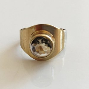 Art Deco Antik Gold Ring 333 Topas Goldring Meisterpunze Juwelierstück