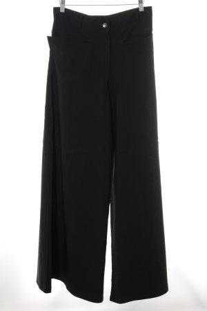 Art Pantalone palazzo nero elegante