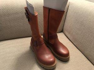 Art Botas altas marrón-coñac