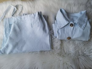 Linen Pants azure
