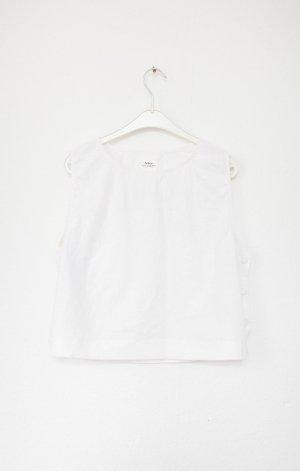 Blusa bianco Lino