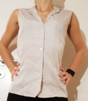 Artigiano Sleeveless Blouse light grey