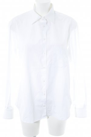 Artigiano Long Sleeve Blouse white casual look