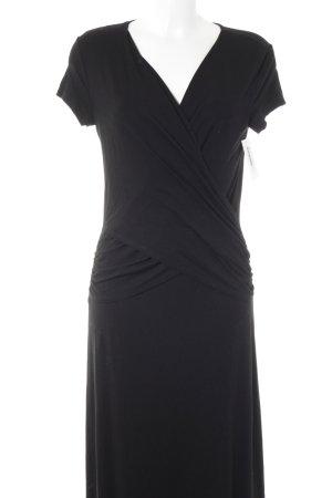 Artigiano Vestido elástico negro elegante