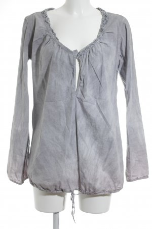Artigiano Tunic Blouse light grey-mauve color gradient casual look