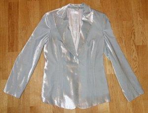 Art To Be Blazer gris claro-color plata Viscosa