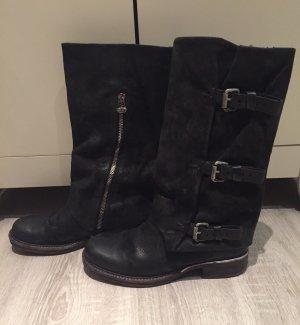 Air Step High Boots black