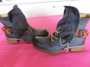 As98 Stieflette in jeansblau, Größe 38 , NP 229 EUR !