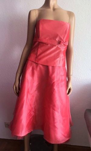 Ascia Abendkleid Gr. 38 langes Kleid Bandeaukleid Abschlussballkleid Hochzeitsgast