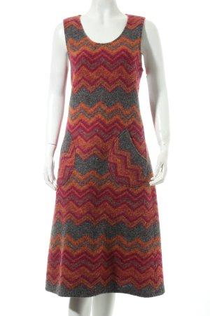 Asena Kleider Vestido de lana multicolor look casual