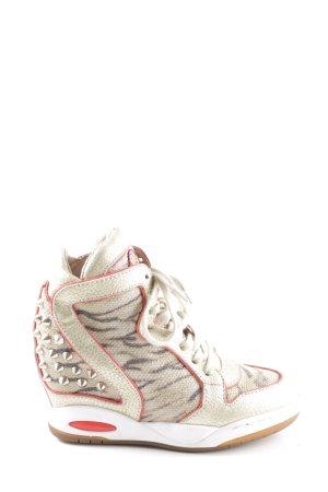 ASH Heel Sneakers allover print casual look