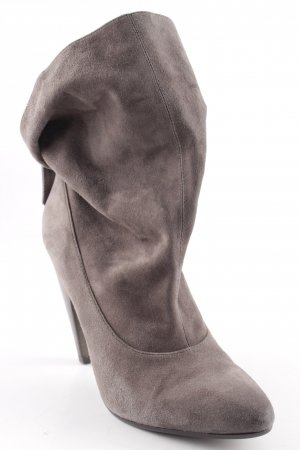 ASH Heel Boots green grey simple style