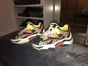 ASH Sneaker con tacco multicolore