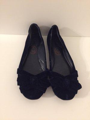 ASH Slingback ballerina's donkerblauw