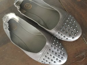 ASH Ballerinas dark grey-grey leather