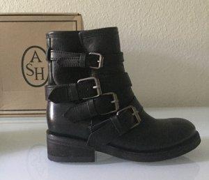 ASH Buskins black leather