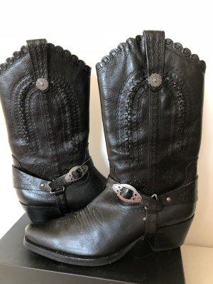 ASH Boots western noir