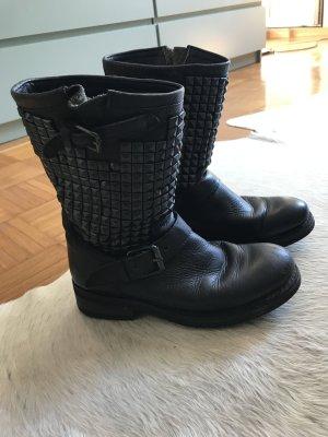 Ash boots damen 38 Nieten Leder