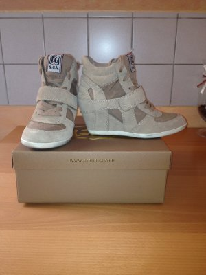Ash BOWIE - Sneaker high - chamois