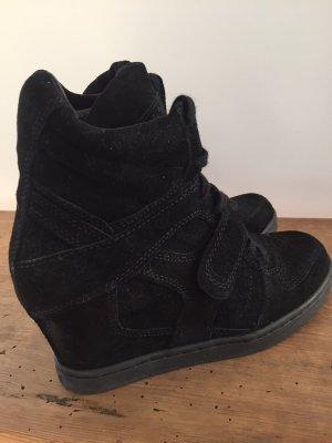 Ash Damen Sneaker Damenschuhe Wedges, Keilabsatz Gr. 40 Neu schwarz