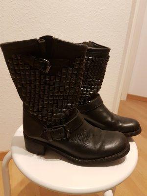 Ash Dean Biker Boots mit schwarzen Nieten