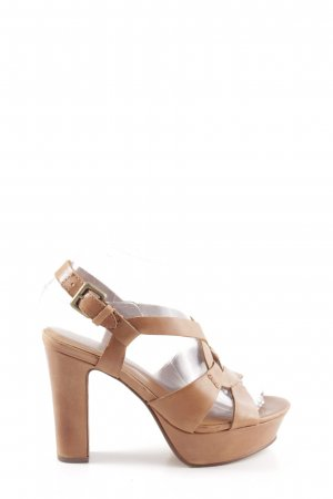 ASH High Heel Sandaletten braun Casual-Look