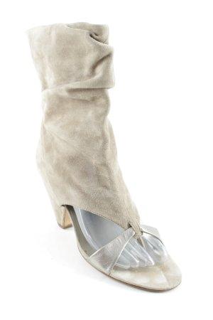 ASH High Heel Sandal camel-silver-colored elegant