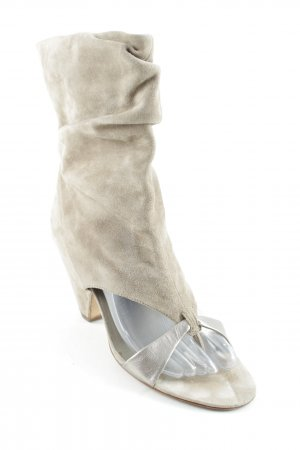 ASH High Heel Sandaletten camel-silberfarben Elegant