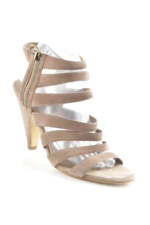 ASH High Heel Sandal grey brown urban style