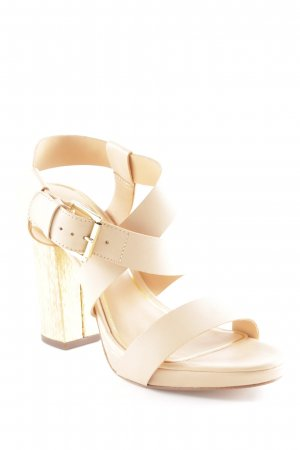 ASH High Heels nude-goldfarben Party-Look
