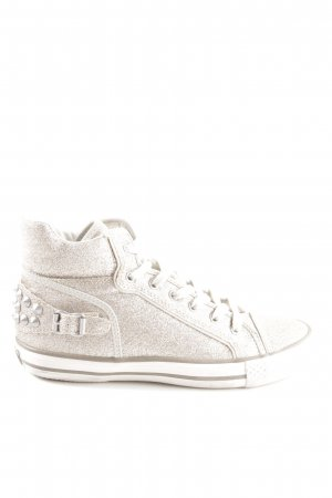 ASH High Top Sneaker goldfarben Casual-Look