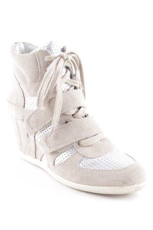 ASH Keil-Stiefeletten beige Casual-Look