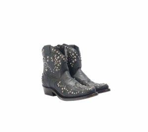 ASH Kendra Ancle Boots Stiefeletten Leder Echtleder Nieten Gr. 37 neu