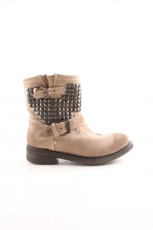 ASH Short Boots natural white-bronze-colored casual look