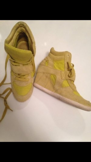 Ash LIMEGREEN HIGH TOPS