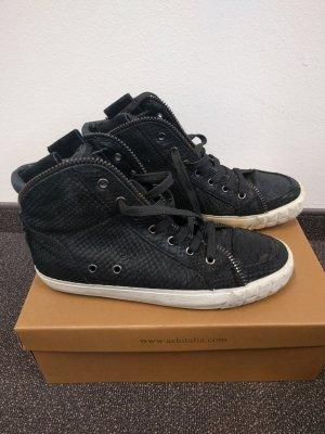 Ash Limited Sneaker Black Python