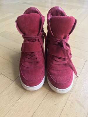 Ash Limited Sneaker mit Keilabsatz, rot