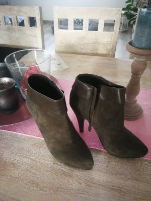 ASH Booties grey-dark grey