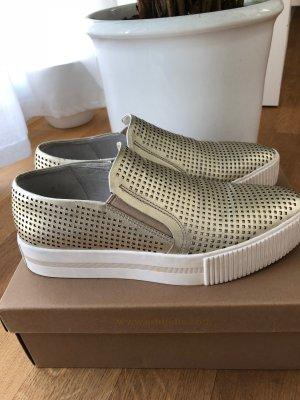 ASH Instapsneakers goud-wit