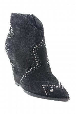 ASH Zipper Booties black party style