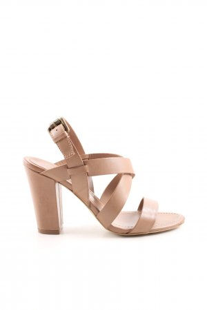 ASH Riemchenpumps nude Casual-Look