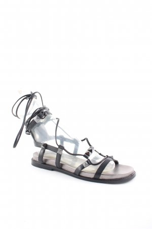 ASH Roman Sandals black-silver-colored street-fashion look