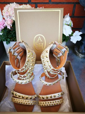 ASH Strapped Sandals gold-colored