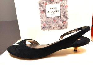 ASH Sandalo comodo nero Scamosciato